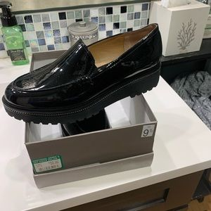 Black Loafers new in box